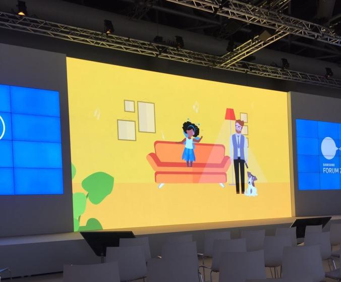 Samsung YEllow presentaiton